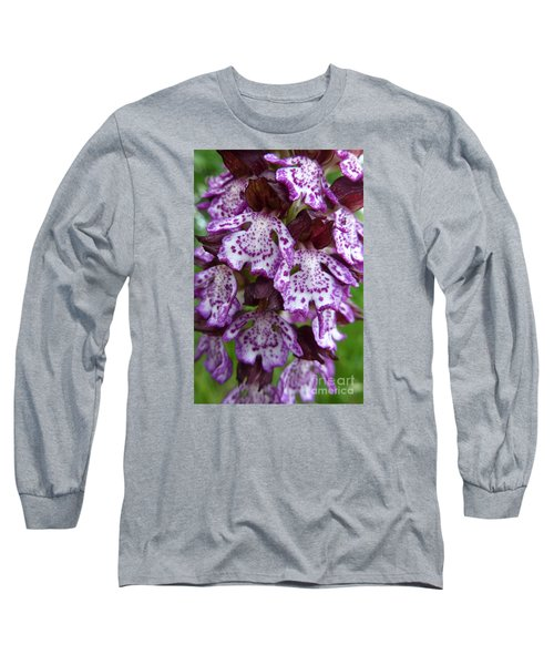 Savage Orchid 2 Long Sleeve T-Shirt by Jean Bernard Roussilhe