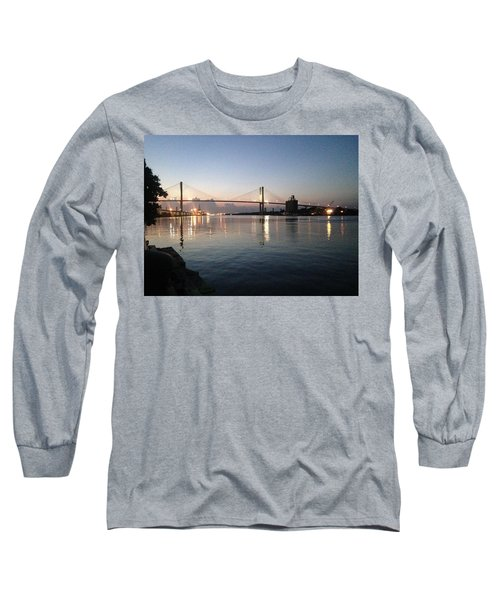 Savannah Bridge Evening  Long Sleeve T-Shirt