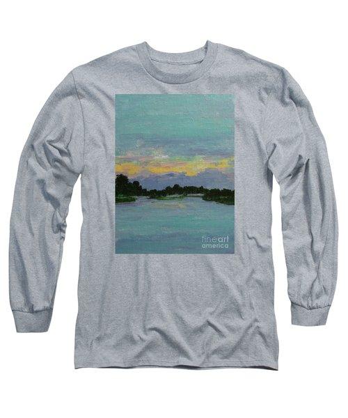 Savannah Sunrise Long Sleeve T-Shirt by Gail Kent