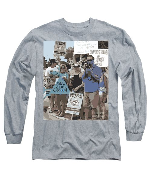 Save Our Lagoon Long Sleeve T-Shirt