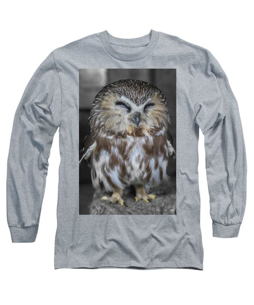 Saw Whet Owl Long Sleeve T-Shirt