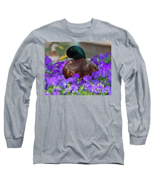 Say Quack Long Sleeve T-Shirt