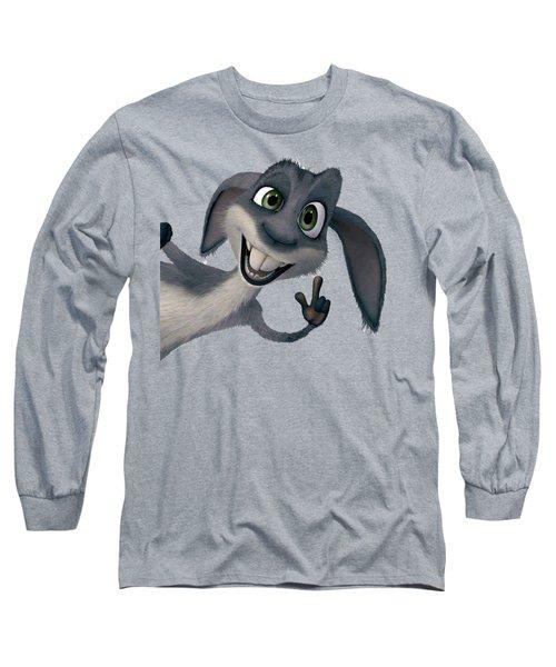 Saying Hi T-shirt  Long Sleeve T-Shirt by Herb Strobino
