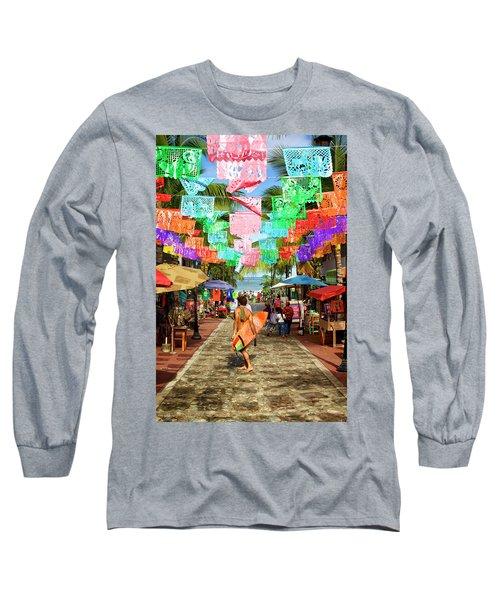 Sayu Flags 2 Long Sleeve T-Shirt