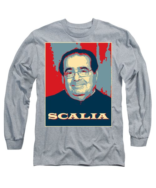 Long Sleeve T-Shirt featuring the digital art Scalia by Richard Reeve