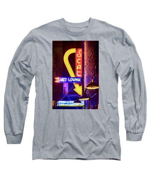 Scat Jazz Neon V3 Long Sleeve T-Shirt