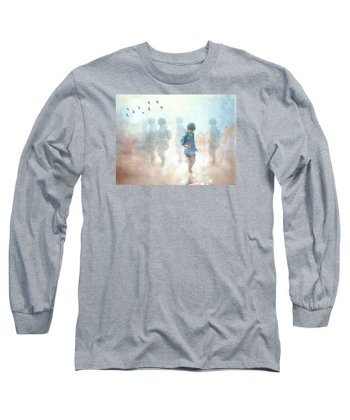 Scavenger--holding The Earth Long Sleeve T-Shirt