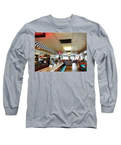 Scenes From A Diner Long Sleeve T-Shirt