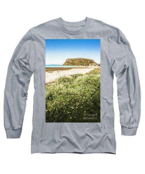 Scenic Stony Seashore Long Sleeve T-Shirt