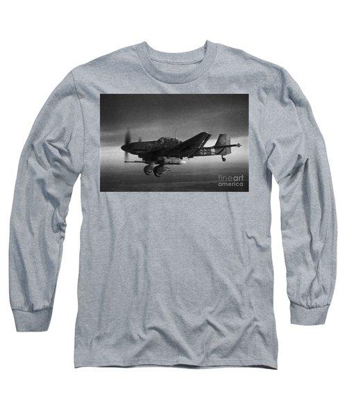 Ju87g-2 Kanonenvogel Long Sleeve T-Shirt