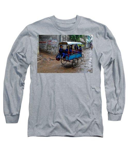School Cart Long Sleeve T-Shirt