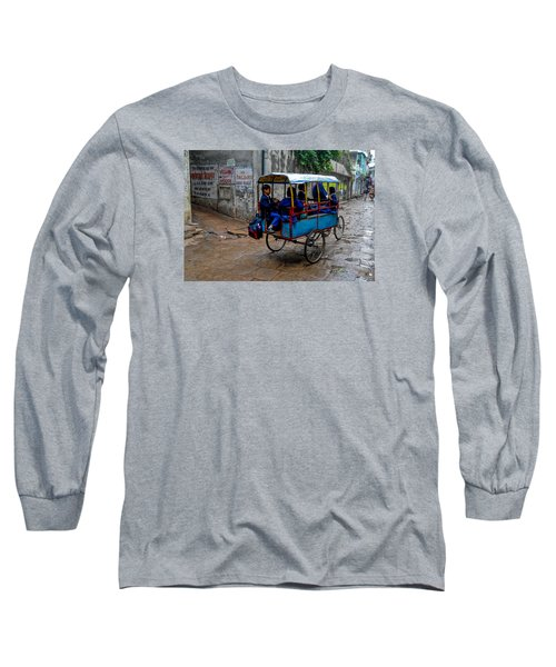 School Cart Long Sleeve T-Shirt