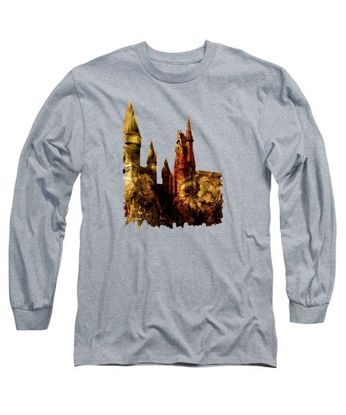 School Of Magic Long Sleeve T-Shirt by Anastasiya Malakhova