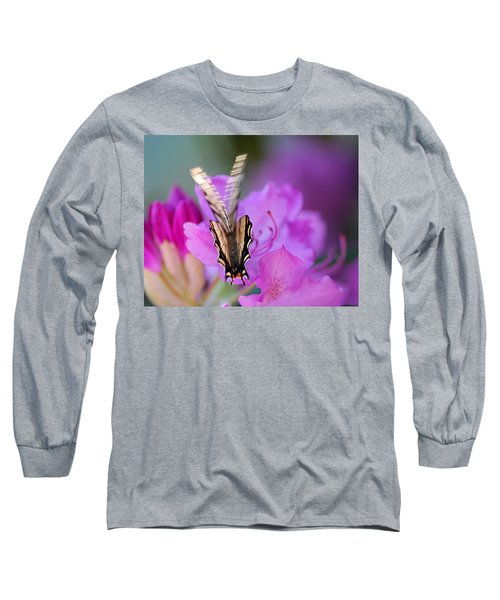 Long Sleeve T-Shirt featuring the photograph Scissorwings by Susan Capuano