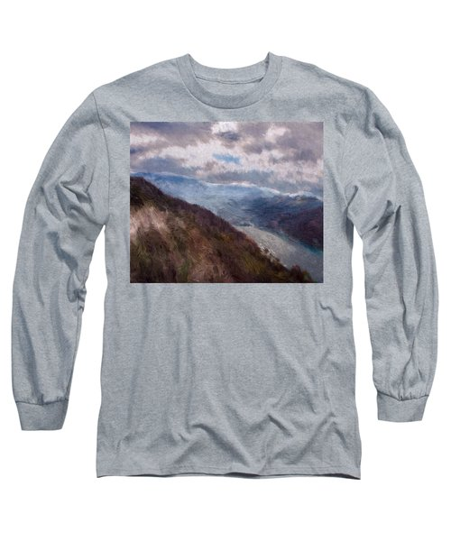 Scottish Landscape Long Sleeve T-Shirt