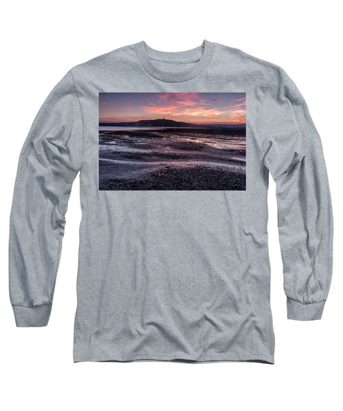 Scrabo Above Strangford Lough Long Sleeve T-Shirt