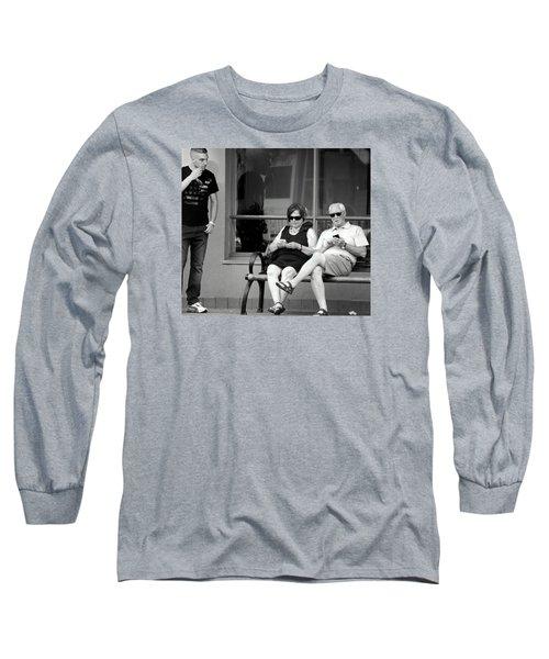 Screen Generation Long Sleeve T-Shirt by David Gilbert