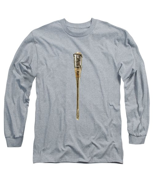Screwdriver With Tape Handle Long Sleeve T-Shirt