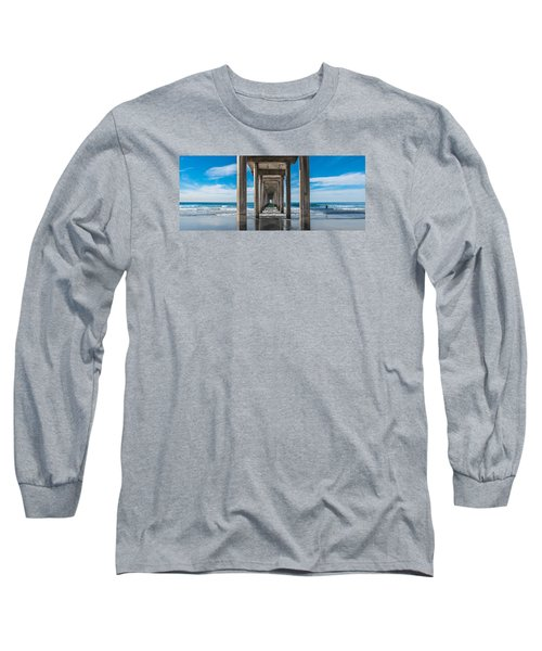 Scripps Pier La Jolla California Long Sleeve T-Shirt
