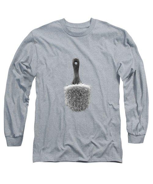 Scrub Brush Bw Long Sleeve T-Shirt