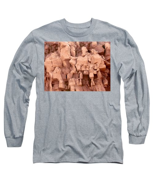 Sculpted Rocks Long Sleeve T-Shirt