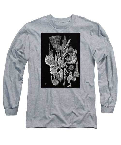 Sea Filigree Long Sleeve T-Shirt by Charles Cater