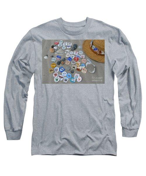 Sea Isle City Beach Tags Long Sleeve T-Shirt