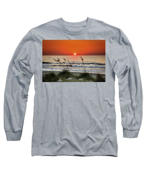 Sea Oats Sunrise Long Sleeve T-Shirt