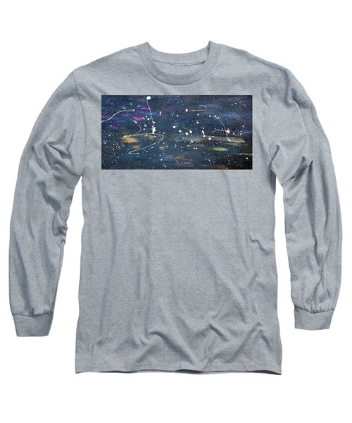 Long Sleeve T-Shirt featuring the painting Sea Of Love by Michael Lucarelli
