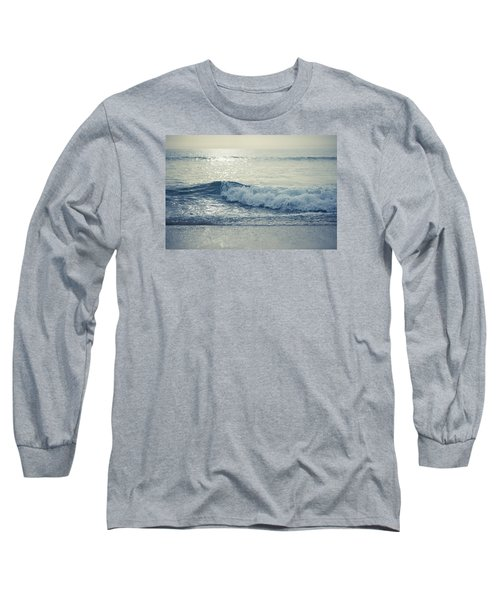 Sea Of Possibilities Long Sleeve T-Shirt by Laura Fasulo