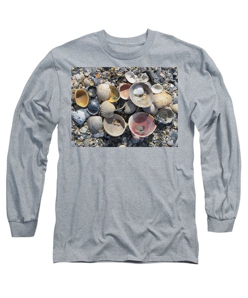 Sea Shell Mozaic Long Sleeve T-Shirt