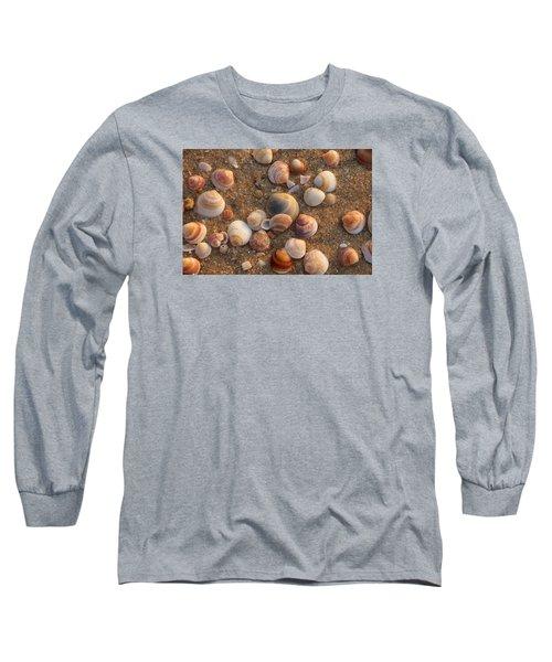 Sea Shells At Sunset Long Sleeve T-Shirt