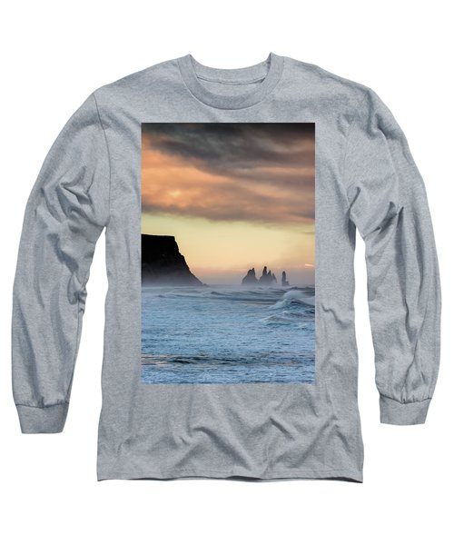 Sea Stacks Long Sleeve T-Shirt by Allen Biedrzycki