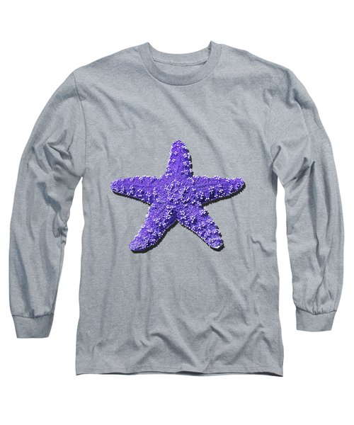 Sea Star Purple .png Long Sleeve T-Shirt