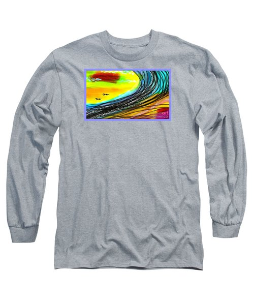Sea Long Sleeve T-Shirt by The Art of Alice Terrill