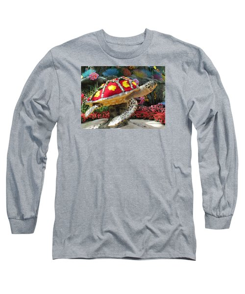 Sea Turtle Long Sleeve T-Shirt by Steven Parker