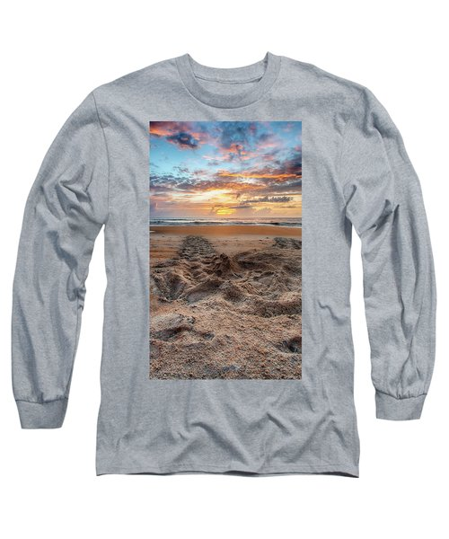 Sea Turtle Trails Long Sleeve T-Shirt