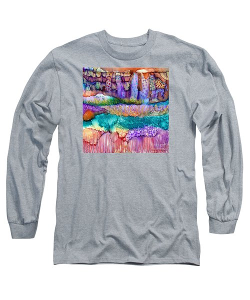 Sea Wall Long Sleeve T-Shirt by Alene Sirott-Cope