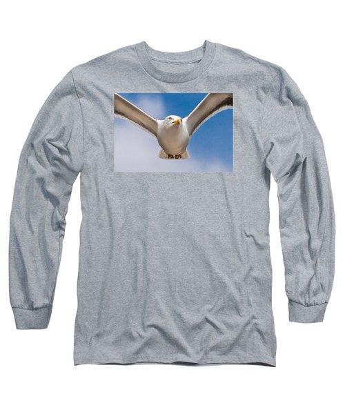 Seabird Closeup Long Sleeve T-Shirt