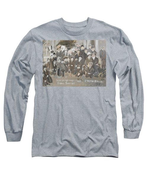 Seacombe Picnic Long Sleeve T-Shirt by Judith Desrosiers
