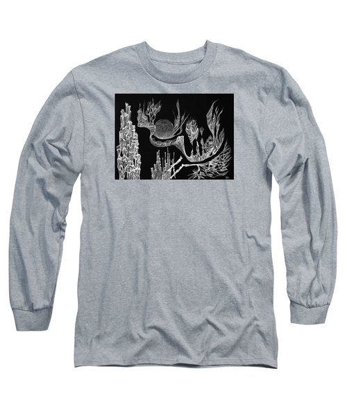 Seadragon Dreams Long Sleeve T-Shirt by Charles Cater