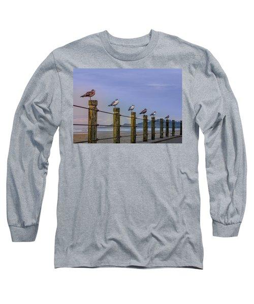 Seagull Lineup Long Sleeve T-Shirt
