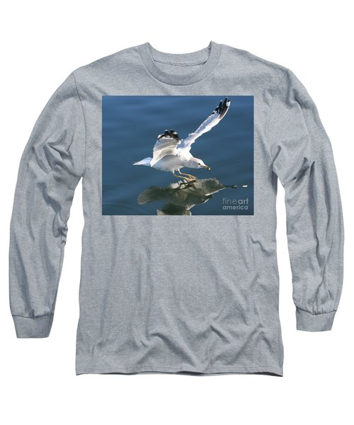 Seagull Reflection Long Sleeve T-Shirt