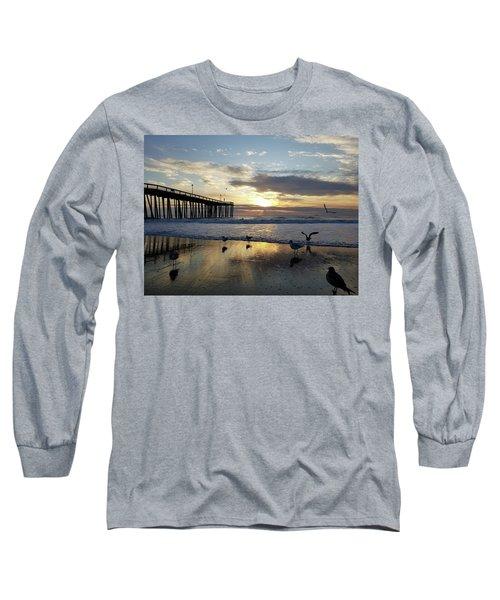 Seagulls And Salty Air Long Sleeve T-Shirt