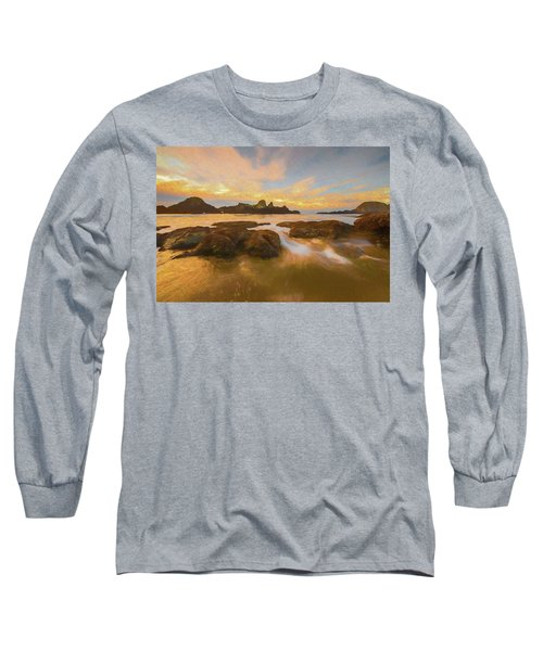 Seal Rock Sunset Long Sleeve T-Shirt