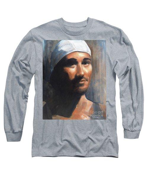 Sean Long Sleeve T-Shirt by Diane Daigle