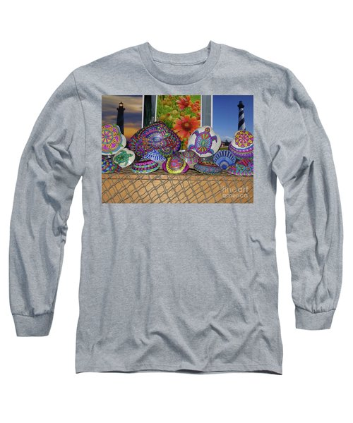 Seashells By The Seashore Long Sleeve T-Shirt