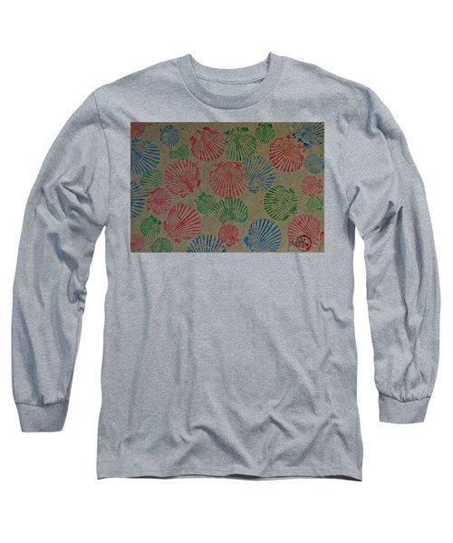 Seashells By The Seashore Long Sleeve T-Shirt