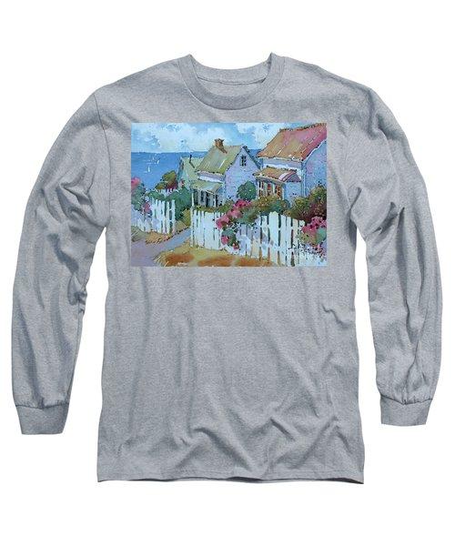 Seaside Cottages Long Sleeve T-Shirt