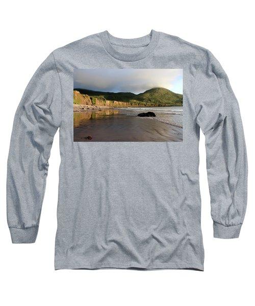 Seaside Reflections, County Kerry, Ireland Long Sleeve T-Shirt